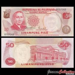 PHILIPPINES - Billet de 50 Piso - Sergio Osmeña - 1970 P151a