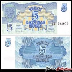 LETTONIE - Billet de 10 Latvijas Rublis (Roubles letton) - 1992 P37a