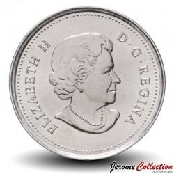 CANADA - PIECE de 25 Cents - Nature légendaire au Canada - Faucon pèlerin - 2011