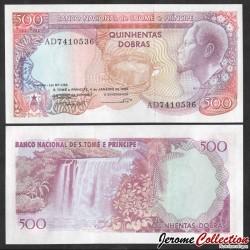 SAO TOMÉ-ET-PRINCIPE - Billet de 500 Dobras - Tortue - 01.04.1989 P61a