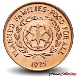 TONGA - PIECE de 2 Seniti - Pastèques - FAO - 1975