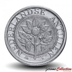 ANTILLES NEERLANDAISES - PIECE de 1 Cent - Fleur d'oranger - 2016 Km#32