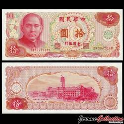 TAIWAN - Billet de 10 Yuan - Dr. Sun Yat-sen - 1976 P1984a