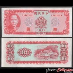TAIWAN - Billet de 10 Yuan - Dr. Sun Yat-sen - 1975 P1979b