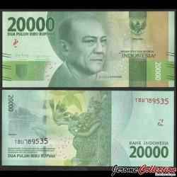 INDONESIE - Billet de 20000 Rupiah - 2019 P158d