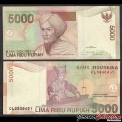 INDONESIE - Billet de 5000 Rupiah - 2016 P142p1