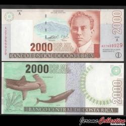 COSTA RICA - Billet de 2000 Colones - Requin marteau - 09.04.2003 P265f