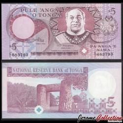 TONGA - Billet de 5 Pa'anga - Le Haʻamonga ʻa Maui - 1995 P33b