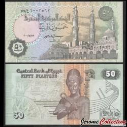 EGYPTE - Billet de 50 Piastres - Ramses II - 23/11/2000 P62f
