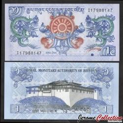 BHOUTAN - Billet de 1 Ngultrum - 2006 P27a