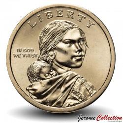 ETATS UNIS / USA - PIECE de 1 Dollar - Native american  -Elizabeth Peratrovich - Alaska - D - 2020
