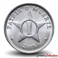 CUBA - PIECE de 1 CENTAVO - Armoiries de Cuba - 2008 Km#33