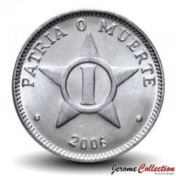 CUBA - PIECE de 1 CENTAVO - Armoiries de Cuba - 2006 Km#33