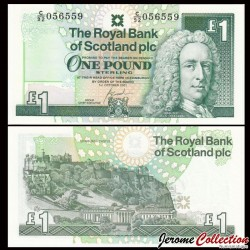 ECOSSE - Billet de 1 Pound - Lord Ilay - 2001