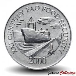 PANAMA - PIECE de 1 Centésimo - FAO - 2000 Km#132