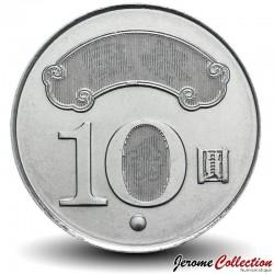 TAIWAN - PIECE de 10 Yuan - Sun Yat-sen - 2011