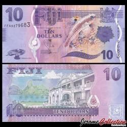 FIDJI - Billet de 10 DOLLARS - 2012