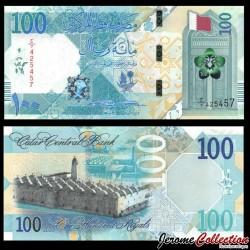 QATAR - Billet de 100 Riyals - Mosquée - 2020 P36a