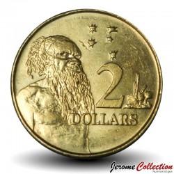 AUSTRALIE - PIECE de 2 Dollars - Aborigène - 2019 Km#406