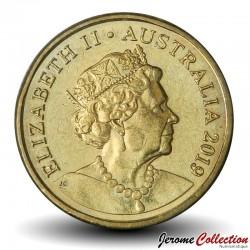 AUSTRALIE - PIECE de 2 Dollars - Aborigène - 2019