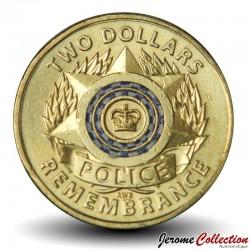 AUSTRALIE - PIECE de 2 Dollars - National Police Remembrance Day - 2019 Km#NEW