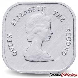 CARAIBE ORIENTALE - PIECE de 2 Cents - 1996