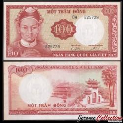 SUD VIETNAM - Billet de 100 Dong - Le van Duyet - 1966 P19b