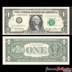ETATS UNIS / USA - Billet de 1 DOLLAR - George Washington - K(11) Dallas - 2006 P523ak