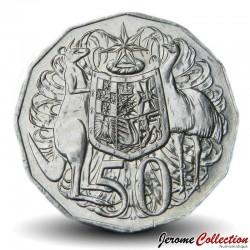 AUSTRALIE - PIECE de 50 Cents - 50 ans de la devise