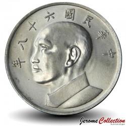 TAIWAN - PIECE de 5 Yuan - Chiang Kai-Shek - 1979 Km#548