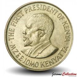 KENYA - PIECE de 10 Cents - Mzee Jomo Kenyatta - 1978 Km#11
