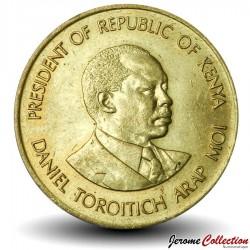 KENYA - PIECE de 5 Cents - Président Arap Moi - 1984 Km#17