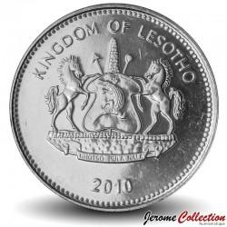 LESOTHO - PIECE de 2 Maloti - Tiges de maïs - 2010 Km#58