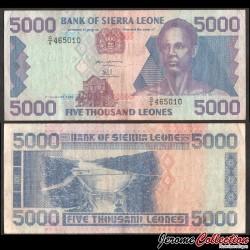 SIERRA LEONE - Billet de 5000 Leones - Sengbe Pieh - 1993 P21a