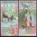 FAUNUS ISLAND - Billet de 11 DOLLARS - Rhinocéros - 2020