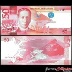 PHILIPPINES - Billet de 50 Piso - 2013 P207c