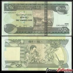 ETHIOPIE - Billet de 100 Birr - 2015 P52g