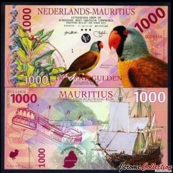 ILE MAURICE / NEDERLANDS-MAURITIUS - Billet de 1000 Gulden - 2016