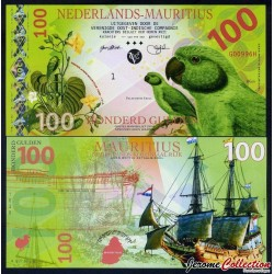 ILE MAURICE / NEDERLANDS-MAURITIUS - Billet de 100 Gulden - 2016