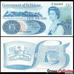 SAINT HELENE - Billet de 5 Pounds - 1981 P7b