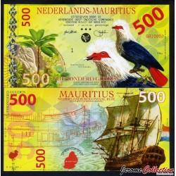 ILE MAURICE / NEDERLANDS-MAURITIUS - Billet de 500 Gulden - 2016