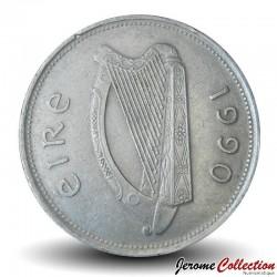IRLANDE - PIECE de 1 Livre - Cerf - 1990