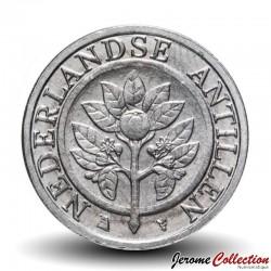 ANTILLES NEERLANDAISES - PIECE de 5 Cents - Fleur d'oranger - 2016