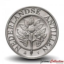 ANTILLES NEERLANDAISES - PIECE de 25 Cents - Fleur d'oranger - 2016