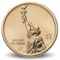 ETATS UNIS / USA - PIECE de 1 Dollar - Industrie et l'innovation - Echelle variable Gerber - Connecticut - P - 2020