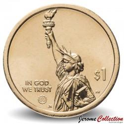 ETATS UNIS / USA - PIECE de 1 Dollar - Industrie et l'innovation - Septima Poinsette Clark - Caroline du Sud - D - 2020