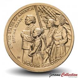 ETATS UNIS / USA - PIECE de 1 Dollar - Industrie et l'innovation - Septima Poinsette Clark - Caroline du Sud - D - 2020 Km#new