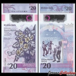 IRLANDE DU NORD - Ulster Bank Limited - 5 Pounds - Polymer - 2018