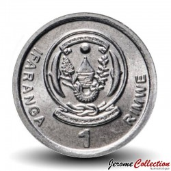 RWANDA - PIECE de 1 Franc - Plan de sorgho - 2003