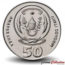 RWANDA - PIECE de 50 Francs - Épi de mais - 2011